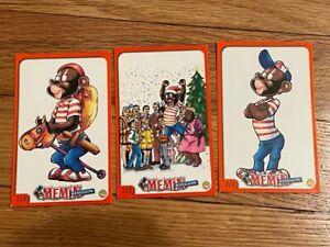 Coleccion completa de 136 tarjetas de Memin Pinguin del 2005. Mexican comic rare