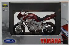 WELLY 2001 YAMAHA TDM850 1:18 DIE CAST MODEL NEW IN BOX LICENSED MOTORCYCLE