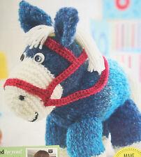 Horse/Pony Toy Knitting Pattern