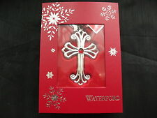 "Waterford Christmas Tree Decoration ""Cross"""