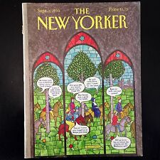 The New Yorker Magazine 3 SEPTEMBER 3rd-1990 Vintage Issue With ELIZABETH JOLLEY