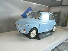STEYR Puch 500 FIAT 500 L blau blue 1969 Solido Metall NEU 1:18