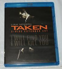 TAKEN (Blu-ray Disc, 2009, 2-Disc Set, Extended Cut; No Digital Copy)