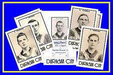 DURHAM CITY - RETRO 1920's STYLE - NEW COLLECTORS POSTCARD SET