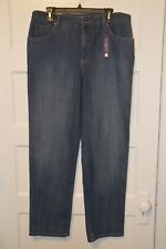 NWT Gloria Vanderbilt Amanda Classic Fit Tapered Leg Mid Rise Jean 14