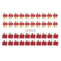 20 x Pairs Ultra T-Plug Male and Female Connectors fit Deans Style Lipo USA SHIP
