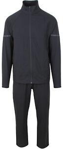 Porsche Design Performance Men's Woven Track Suit Jacket Pants Trousers Black
