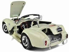 1965 SHELBY COBRA 427 SC CREAM #11 1/18 BY SHELBY COLLECTIBLES SC136