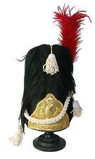 Tschako Bärenfell Mütze Garde Shako Bearskin Empire Grenadier Napoleonic L146