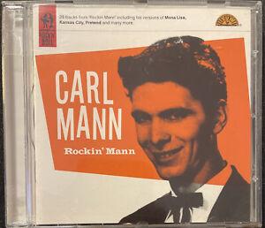 Carl Mann - Rockin' Mann CD