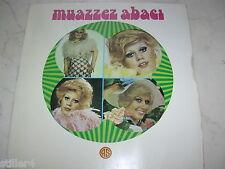 TÜRKEI LP MUAZZEZ ABACI Same *TURKISH 70s MEGARARE USSAK SARKILAR GIMMICK LP*