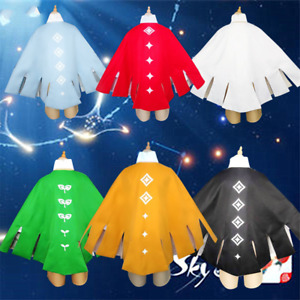 Game Sky:children Of Light Cos Cloak Men Women Initial Cosplay Costumes One Size