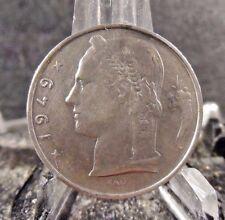 CIRCULATED 1949 5 FRANCS BELGIUM (BELGIE) COIN (80917)1