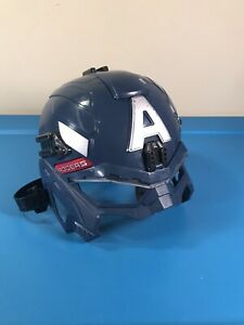 Captain America Winter Soldier Battle Gear Light Up Helmet Avengers Hasbro 2013
