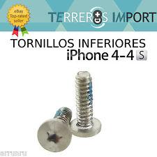 Tornillos Traseros Inferiores Tapa 5 Puntas Pentalobular iPhone 4 4S