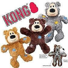 Dog KONG Wild Knots Bear Dog Toy with rope & sqeaker - medium/large