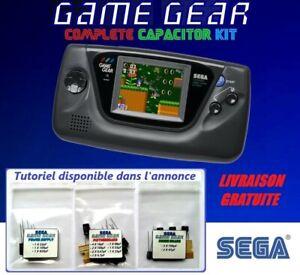 SEGA Game Gear   Cap Kit Condensateurs Complet   Réparation Son et Image
