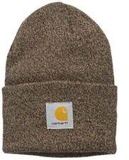 Carhartt Acrylic Watch Cap - Dark Brown/Sandstone Iconic Carhartt Watch Hat