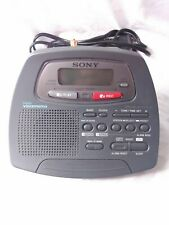 Sony Dream Machine ICF-C723 Digital Voice Memo FM/AM