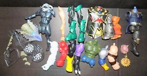 MARVEL LEGENDS DC UNIVERSE PARTS LOT LEGS ARMS TORSO HULK VULTURE MORE LOOK!!!