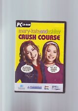 MARY-KATE  ASHLEY : CRUSH COURSE - GIRLS PC GAME - ORIGINAL & COMPLETE - VGC