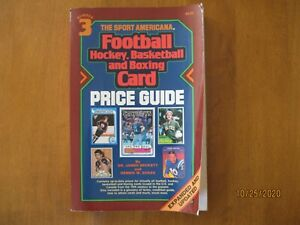 The Sport Americana #3 (Football, Hockey, Basketball & Boxing Card) Price Guide