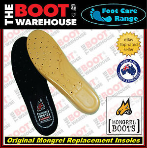 Mongrel Footbed 4 Work Boots. Insoles. Innersoles. Original Replacement Footbeds