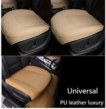 1×Beige Lederauto-Abdeckungs-sitz-Schutz-Sitzabdeckung für BMW VW Toyota Nissan
