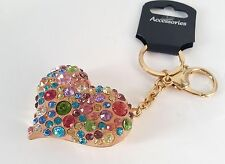 Unbranded Love & Hearts Metal Keyrings for Women