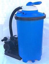Pompa con filtro a sabbia a 7 vie per piscina piscine da 8,5 m³/h fuori terra