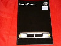 LANCIA Thema i.e. turbo turbo ds 6V i.e. Katalysator Prospekt von 1987