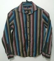 Ben Sherman Mens Shirt Size M Multicolour Striped Casual Long Sleeve Button Up