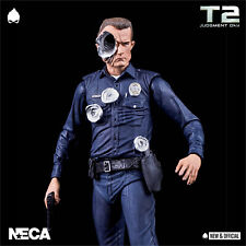 """NECA - Terminator 2 Ultimate T-1000 7"""" A/Figure [IN STOCK] • NEW & OFFICIAL •"""