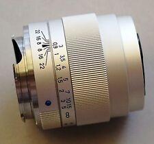 Carl Zeiss ZM Tele-Tessar 85mm f/4 Chrome Lens M mount focusing helicoid