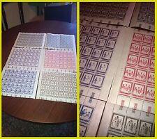 Vaticano Martiri Ugandesi 6 fogli interi francobolli NUOVI