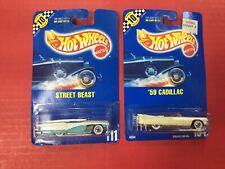 Hot Wheels Street Beast + '59 Cadillac (Lot 2)