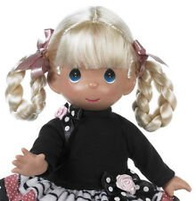 """Precious Moments 12"""" Doll Fashion Frenzy Blonde Girl with Net with tags"""