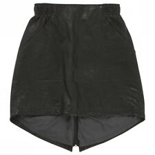 NIKE Leather Skirt Size XS Black NEW $400