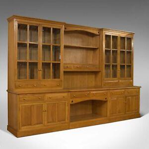 Very Large, Vintage Dresser, Victorian Taste, Ash, Kitchen Cabinet 20th Century