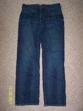 Men's Urban Pipeline Jeans Size 29/30 100% Cotton Straight Fit Denim 5 pkt