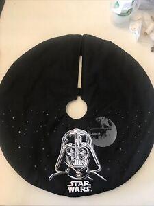 "Star Wars Darth Vader Miniature Black Tree Skirt  17 1/2"""