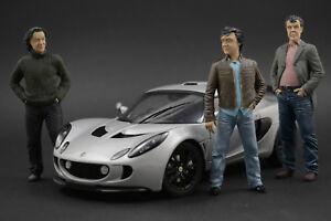 Clarkson & Hammond & May Figure pour 1:18 Grand Tour Bugatti Chiron AUTOart