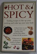 Hot & Spicy Sizzling recipes to fire you up Valerie Ferguson mini cookbook