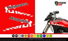 Kit logo husqvarna adesivo 610 grafica adesivo prespaziato logo husqvarna 610sm