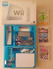 Nintendo wii console bundle, skylanders bundles x 4 boxed
