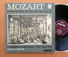 Philips AL 3502 Mozart Symphony 29 25 32 Colin David London Symphony NEAR MINT
