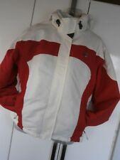 Women's Surfanic Board / Ski Jacket Winter White & Red Size Large