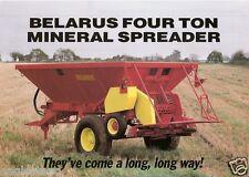 Farm Equipment Brochure - Belarus - Mineral Spreader - 4 Ton (F1686)