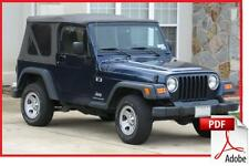 JEEP Wrangler TJ 97/99 - Service and parts manual [on-line delivery]