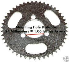 Chinese Mini Pocket Bike Parts HP Performance Rear Sprocket 47 Tooth 47cc 49cc